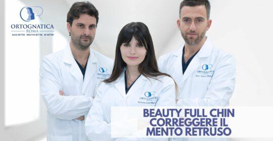 Beauty-Full Chin: la tecnica innovativa per correggere il mento retruso