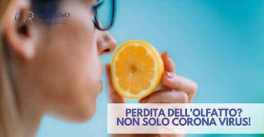 Perdita dell'olfatto? Potrebbe trattarsi di polipi nasali