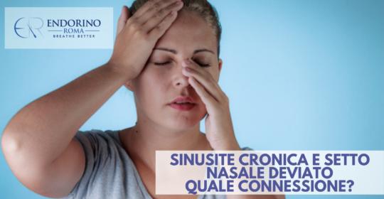Sinusite e setto nasale deviato: quale connessione?